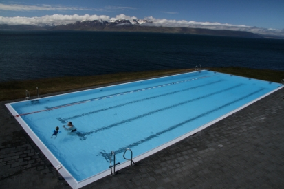 The super-modern facility at Blonduos in remote Northwest Iceland