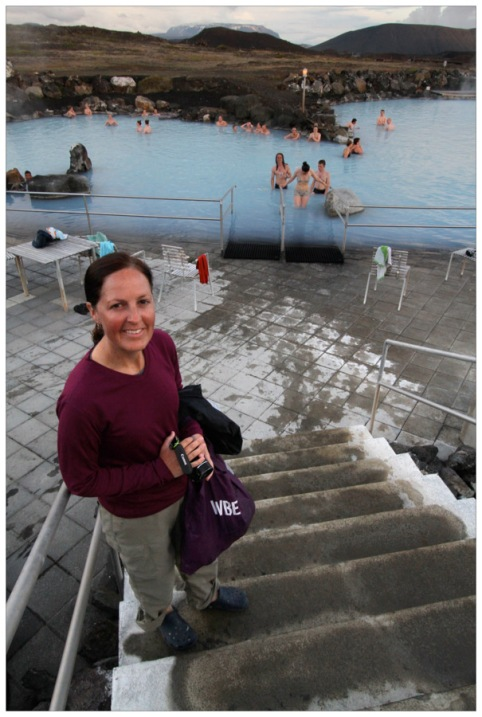 Visiting the Myvatn Nature Baths