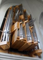 The organ in Hallgrímskirkja