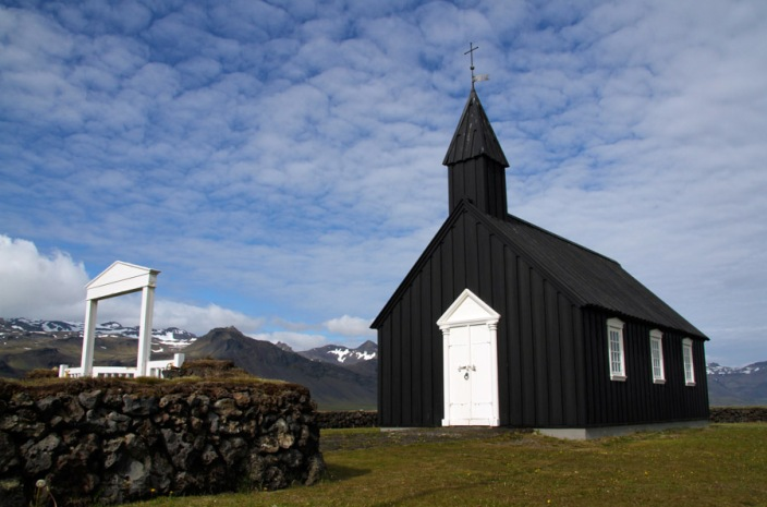 The lonely church of Budir
