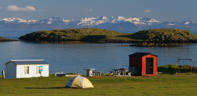 A campsite with a view!