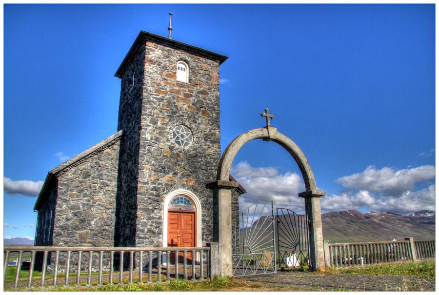 Þingeyrar Stone Church, Vatnsnes Peninsula