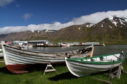 Boats in Sigulfjördur