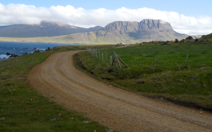 Northwest Iceland road