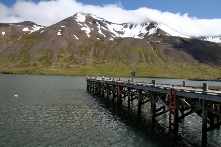 Dock in Sigulfjördur