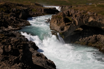 River out of Godafoss