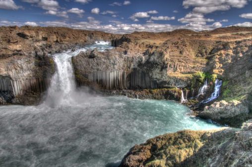 Aldeyjarfoss in HDR