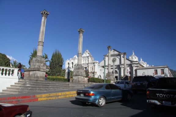 Classical columns in Guatemala...Who knew?
