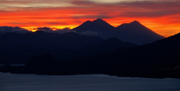 This magnificent sunrise made getting up at 3:45 am worth it!