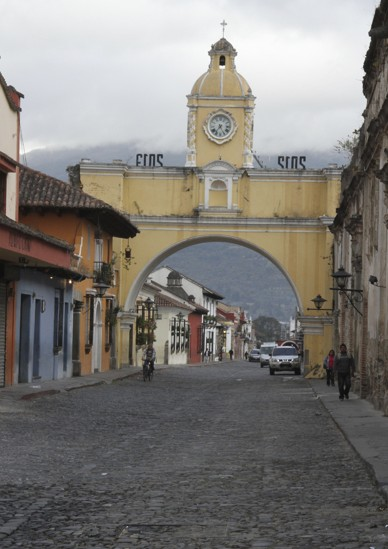 This arch was originally built so nuns could cross above the street without being seen.