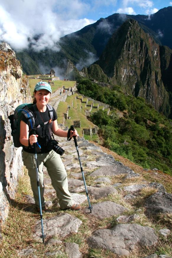 Reaching Machu Picchu on the Inca Trail