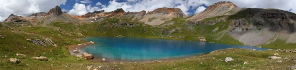Ice Lake Panorama