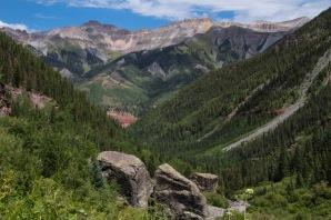 Bear Creek Falls Views