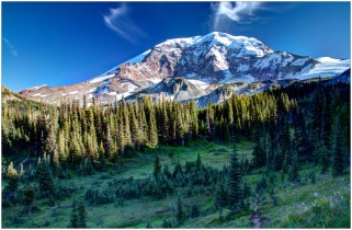 The North Face of Mount Rainier