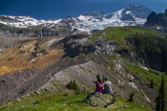 Enjoying the View from Emerald Ridge