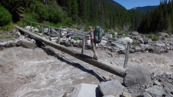 Crossing Winthrop Creek