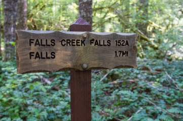 Falls Creek Falls Trailhead