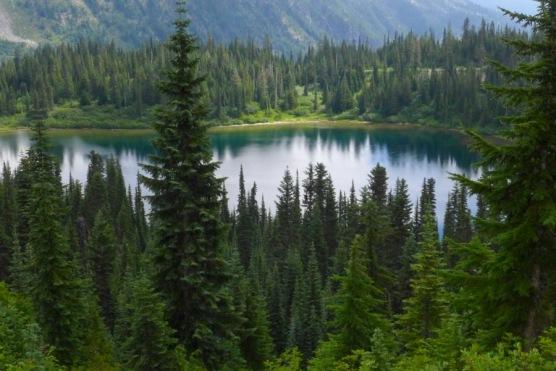Above Louise Lake