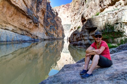 Chilling Out in Santa Elena Canyon