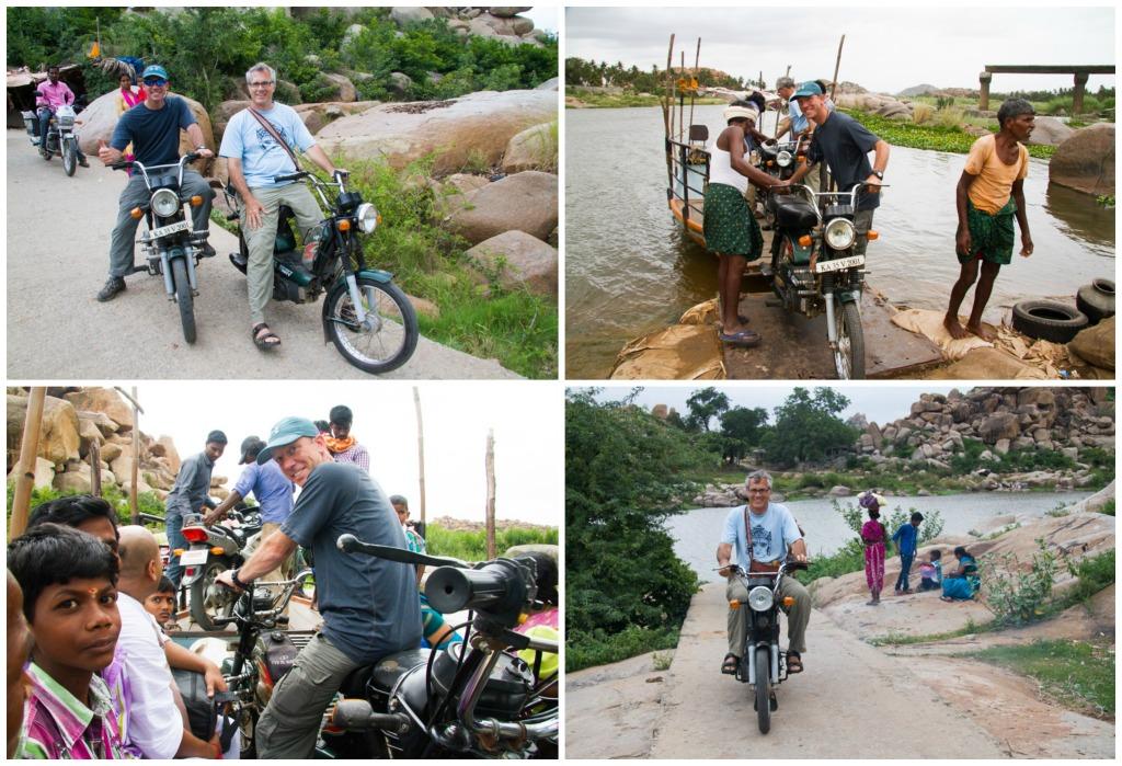 Motorbike Collage